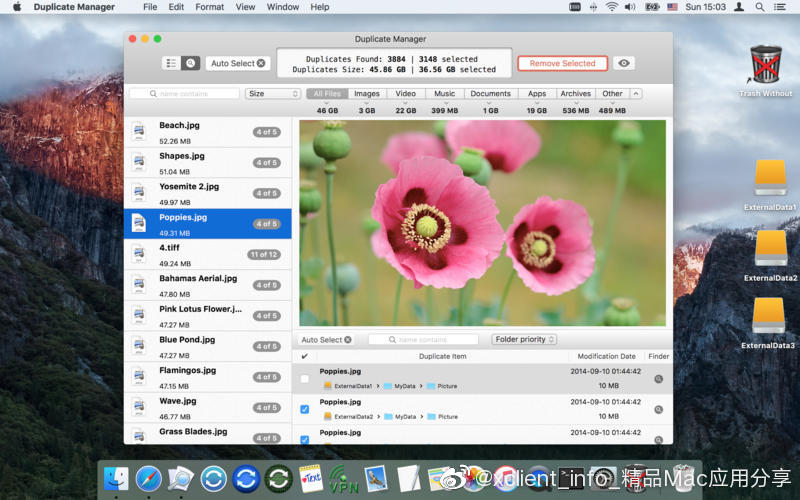 Duplicate Manager Pro 1.3.6 重复文件查找