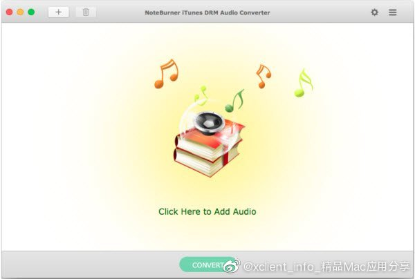 NoteBurner iTunes DRM Audio Converter 3.0.2 去除 iTunes音频文件的drm版权保护