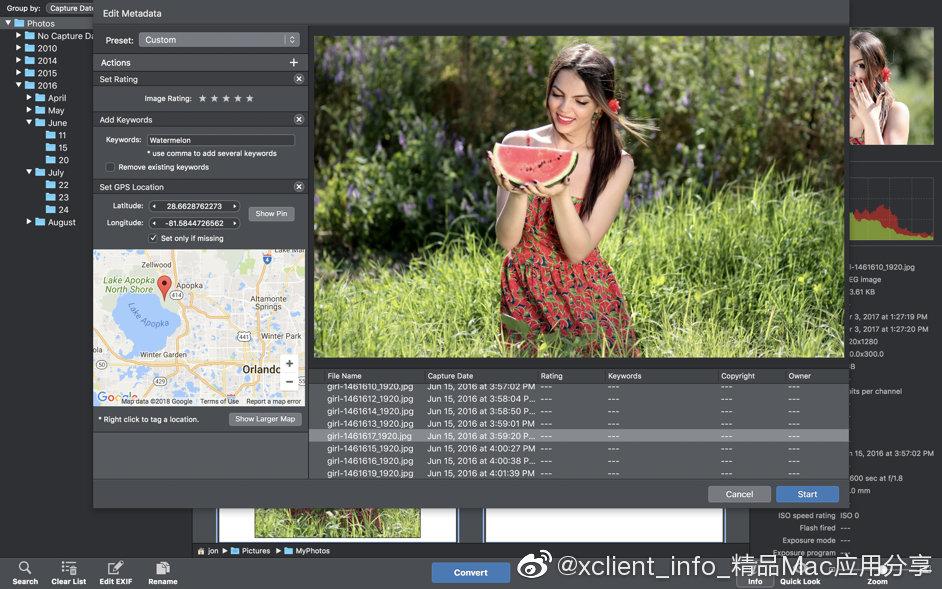 PhotoMill X 1.6.4 批量处理图片工具