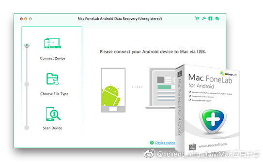 Mac FoneLab For Android 3.1.20.97122 Android设备数据快速恢复软件