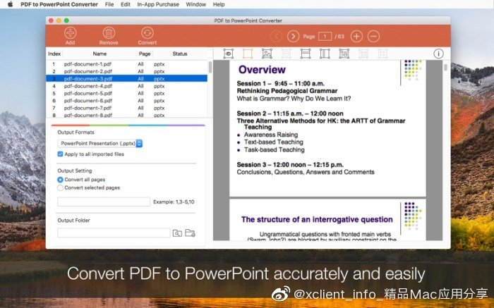 PDF to PowerPoint Converter 6.2.1 PDF转PowerPoint