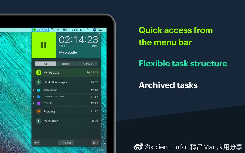 Timemator 2.2 时间跟踪及自动化工具