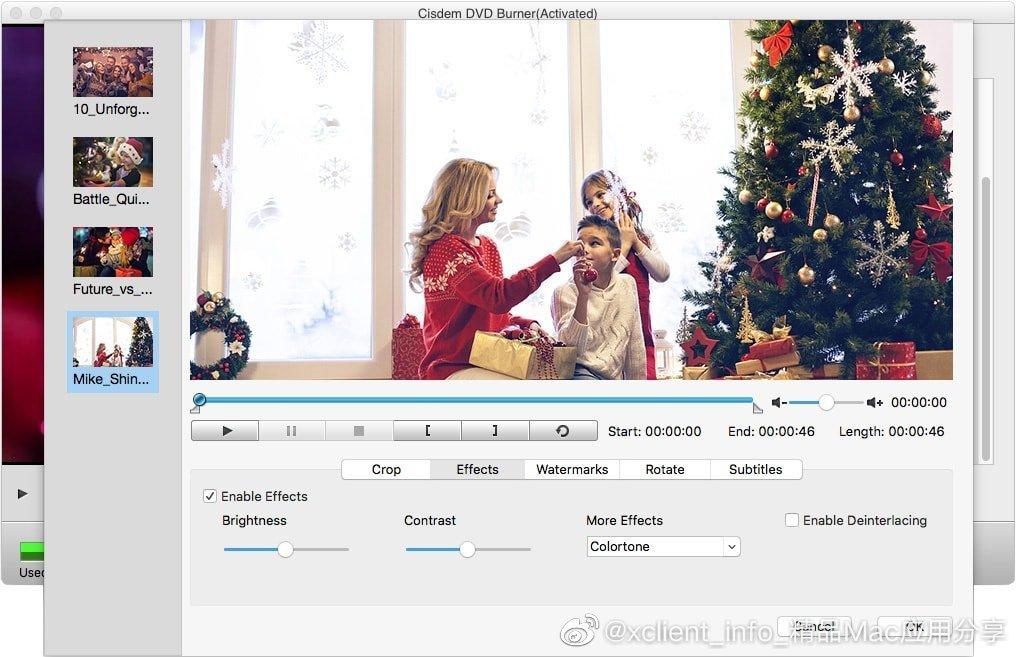Cisdem DVD Burner 5.0.0 光盘刻录