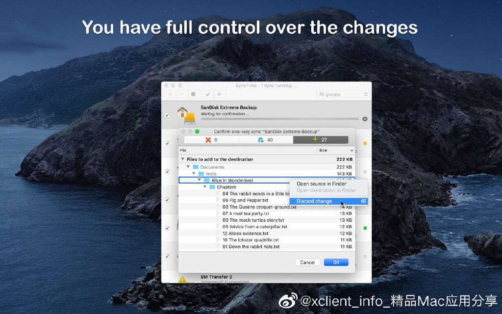 SyncTime 3.2.1 文件同步工具