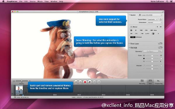 iStopMotion 3.7 模型动画制作软件