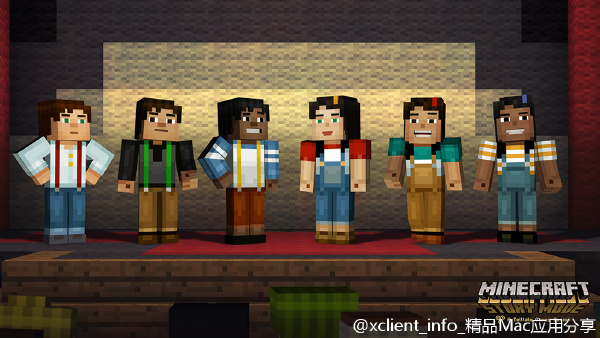 Minicraft:Story Mode – A Telltale Games Series(我的世界-剧情模式)